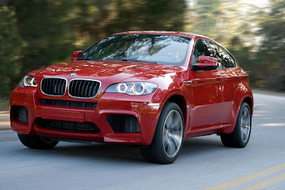 BMW X6 m red gallery