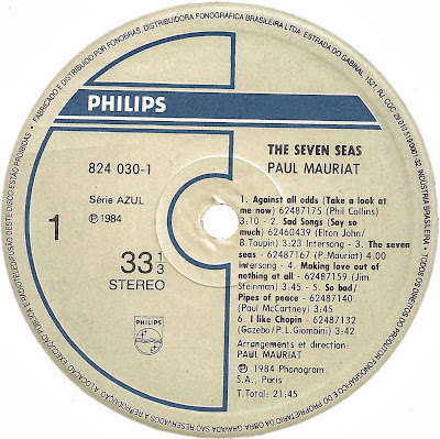 Paul Mauriat - The Seven Seas