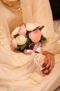 Artificial Flower Hand Bouquet Untuk Disewa