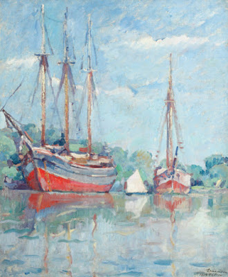 vapoare-pe-dunare-valcov-nicolae-darascu-1924