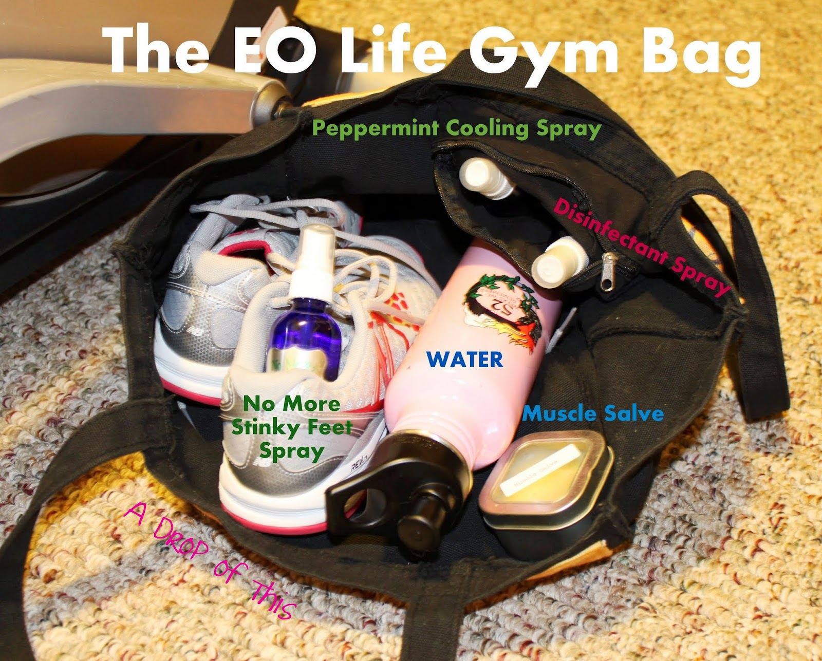 A Drop Of This The Essential Oil Gym Bag