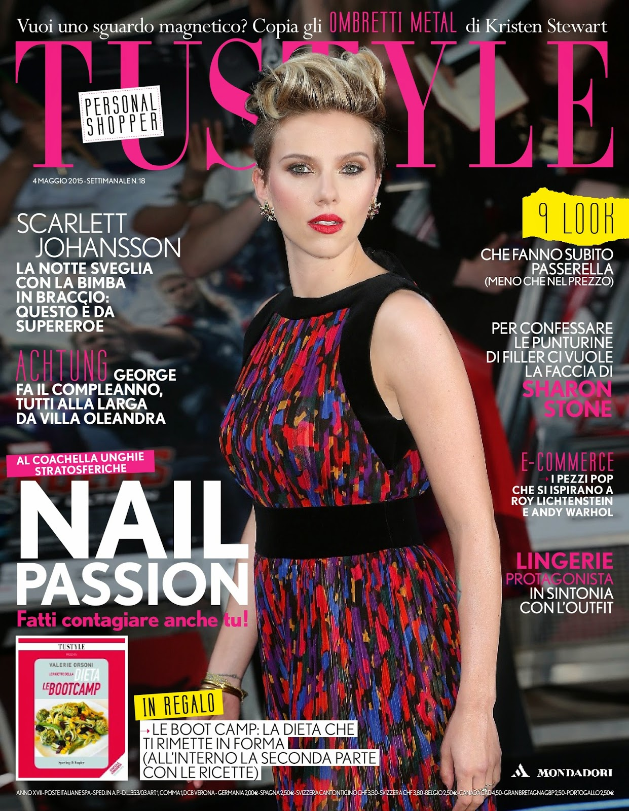 Actress @ Scarlett Johansson - TuStyle Italy, May 2015
