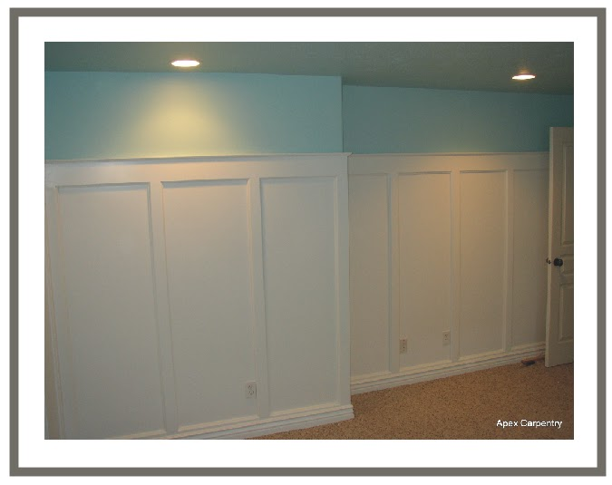 Delorme designs he 39 s quite the craftsman for Examples of wainscoting