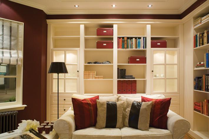 Modern Bookcase Room Dividers Living Room Custom FurniPlan
