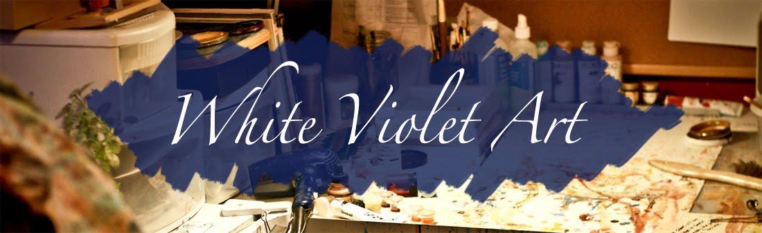 White Violet Art