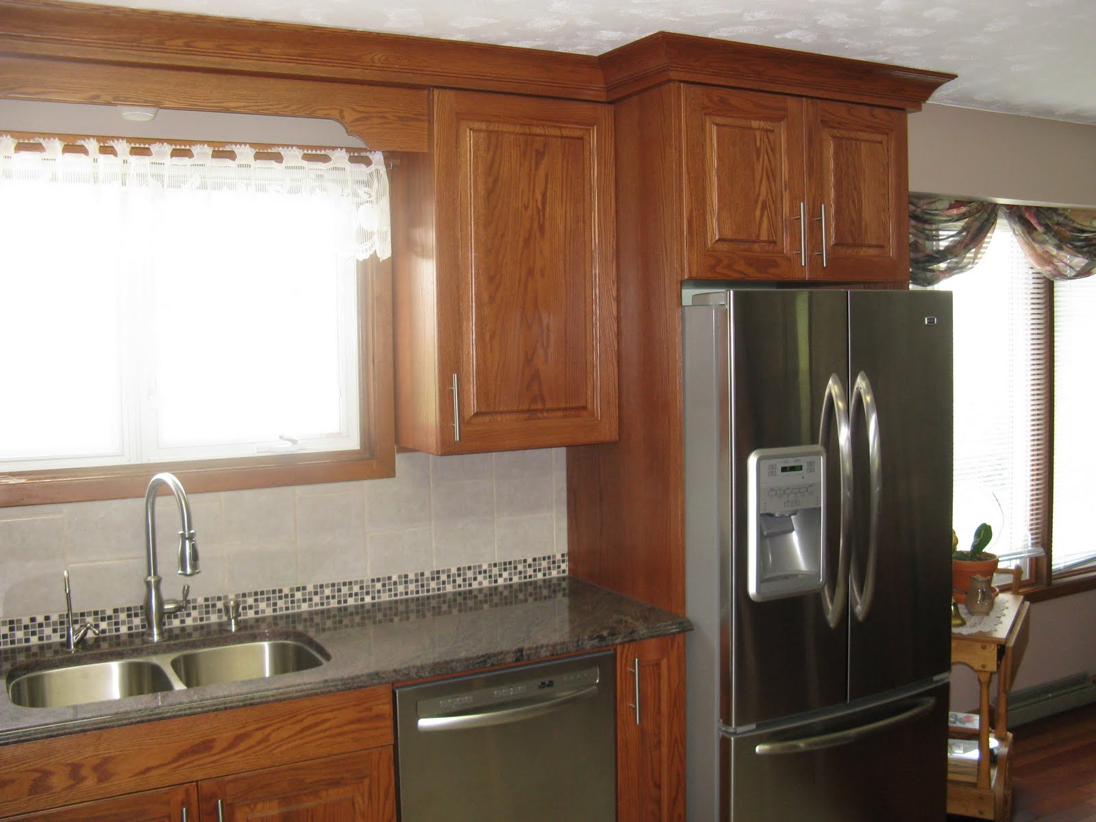 Five star photo gallery oak cabinets for 5 star kitchen cabinets