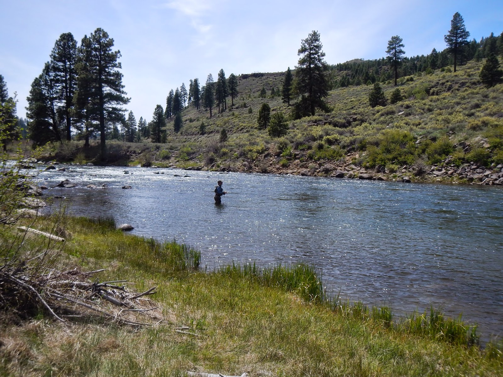 California Fly Fishing Boomers Lighting Deluges And