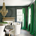 Decorating with Emerald Green Home Accessories by Belle and June in Chicago IL