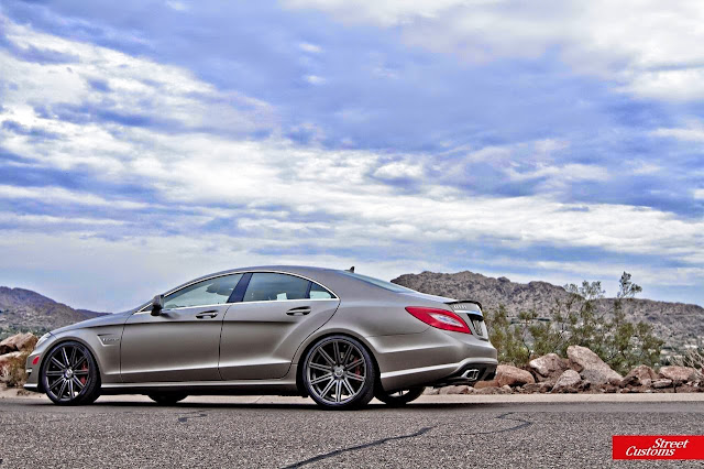mercedes cls 63 brown