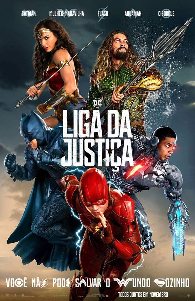 Filme Poster Liga da Justiça 2017