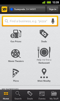 YP Local Search & Gas Price app screenshot