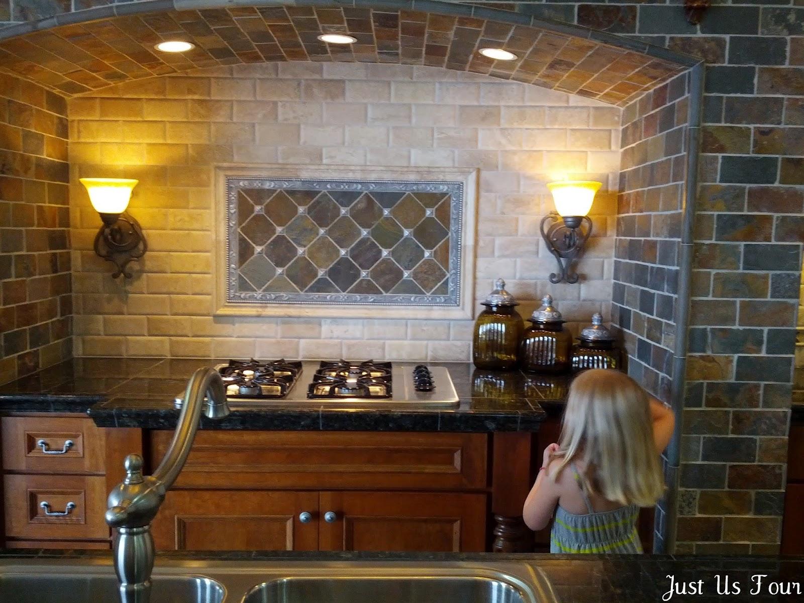 Basement Reno: Come Tile Away - Just Us Four