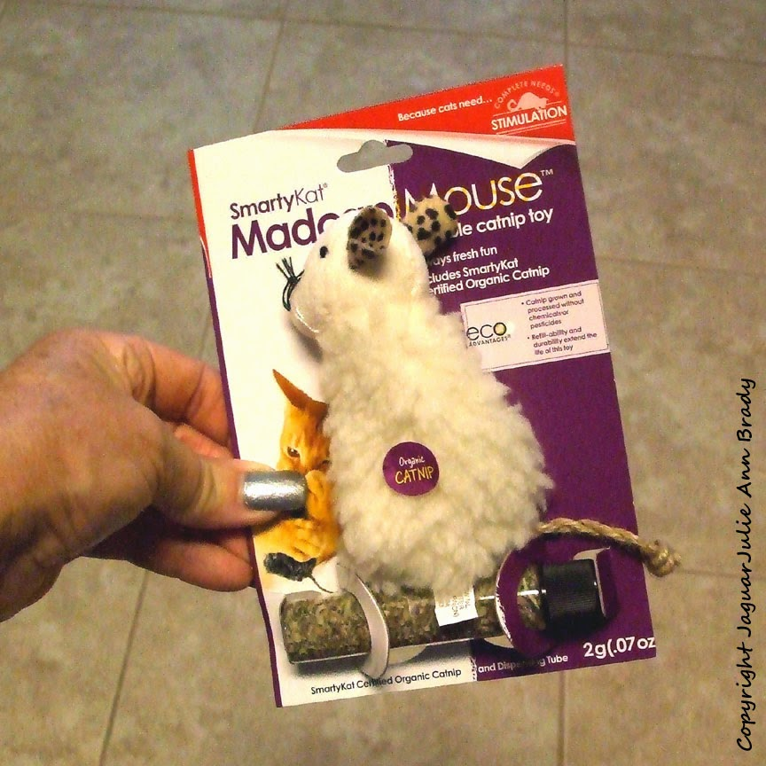 SmartyKat MadcapMouse Refillable Catnip Toy