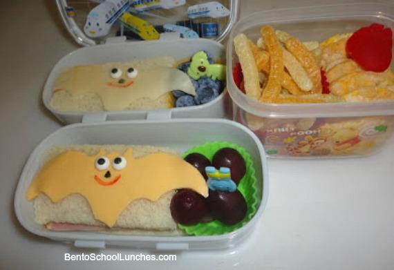 Bats lunch