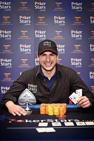 Antonio Diéguez ganador Estrellas Poker Tour Malaga