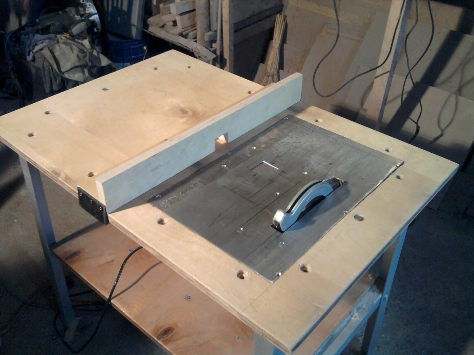 Универсальный стол для фрезера и циркулярки своими