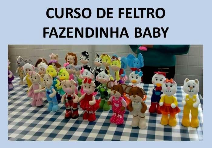 CURSO DE FELTRO FAZENDINHA BABY