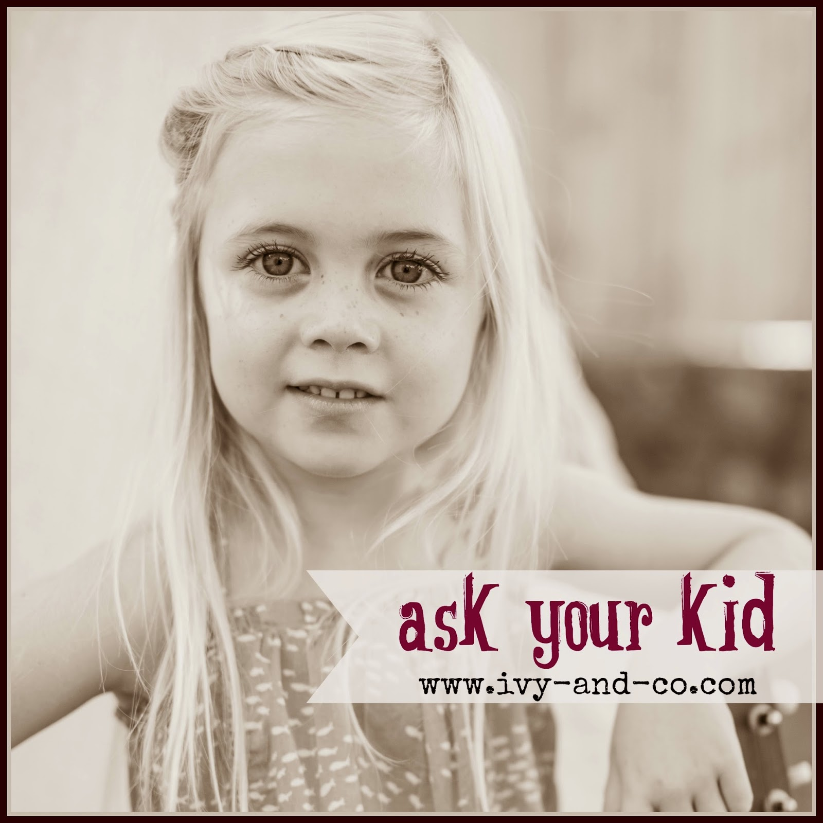 ask your kid - conversation starters - parent child relationship building