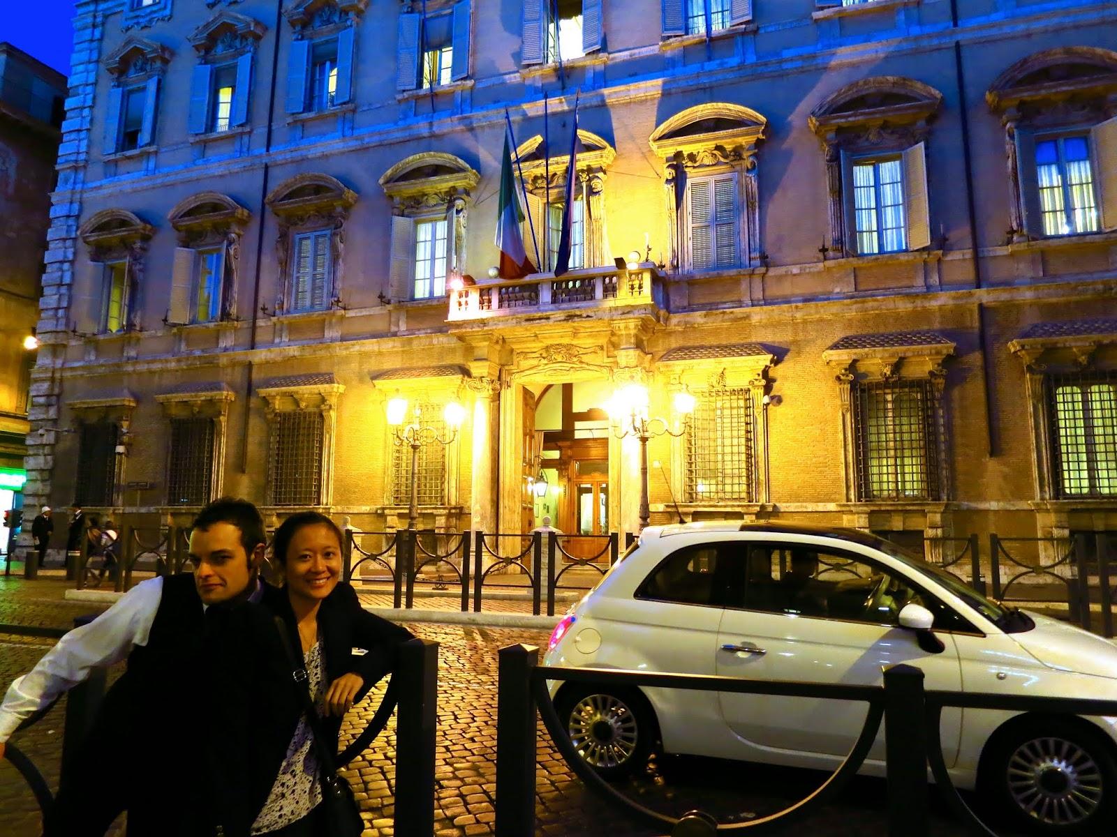 Palazzo Madama, Rome, Italy