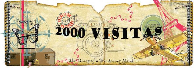 2000 visitas al blog Mi Baúl Viajero