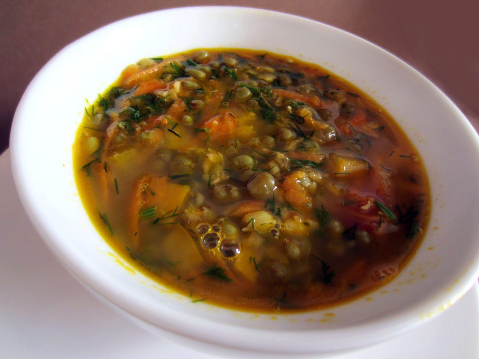Вкусные вегетарианские супы рецепты