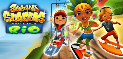 subway surfer rio is update for old subway surfer you will get new
