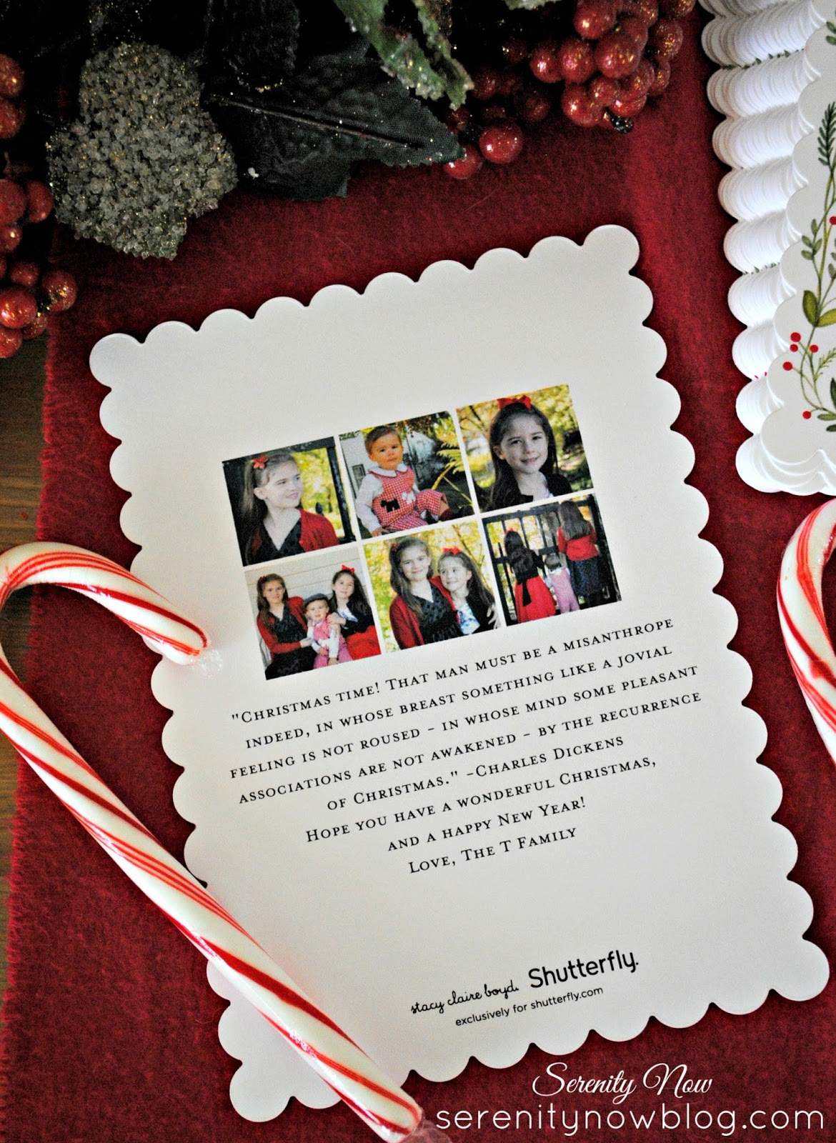 Serenity now family christmas card ideas 2015 shutterfly family christmas card ideas with shutterfly from serenity now m4hsunfo