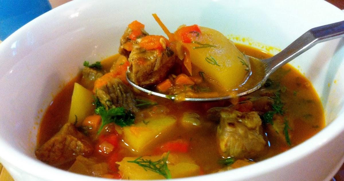 MomsAdventure Soup quot Shurpa quot Recipe
