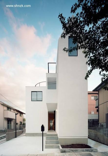 Casa dúplex Minimalista en Japón
