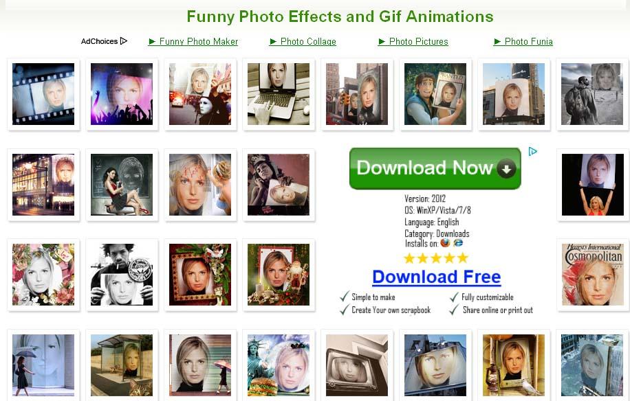 Fun Photo Box menggabungkan kemampuan editing foto normal dengan efek ...