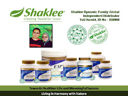 DAPATKAN SHAKLEE SEKARANG!!!
