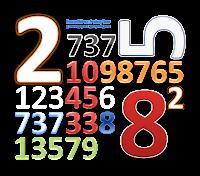 números, excel, repetição