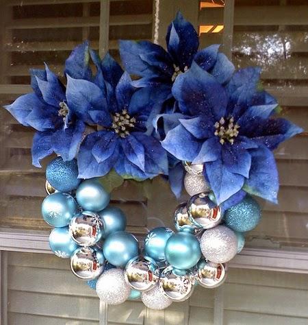 Corona navideña para decorar tu puerta de casa