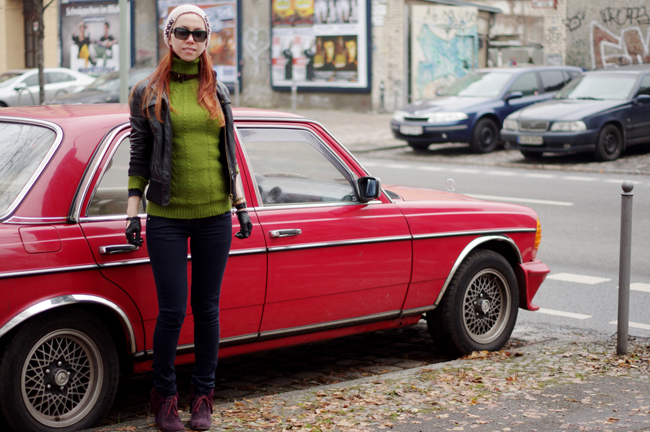 Punk and chic on the streets of friedrichshain by Xenia Kuhn for fashionrolla