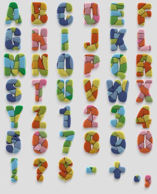 abecedario de HandMadeFont