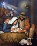 Božićne slike Isus Krist