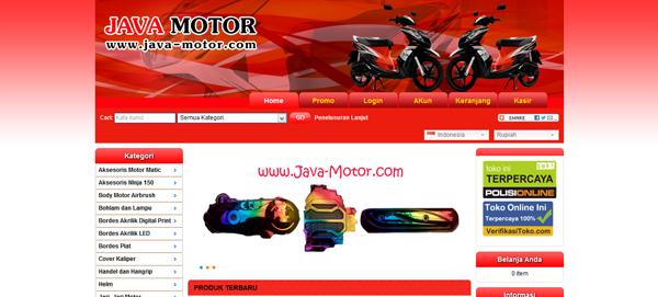 Java-motor.com Toko Variasi Aksesoris Motor Terpercaya