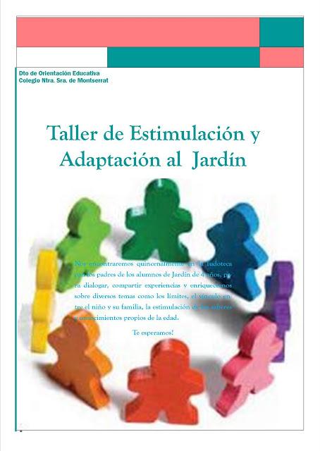 Blog del doe montserrat taller de estimulaci n y for Adaptacion jardin
