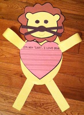 https://www.teacherspayteachers.com/Product/Im-Not-Lion-I-Love-You-2305601