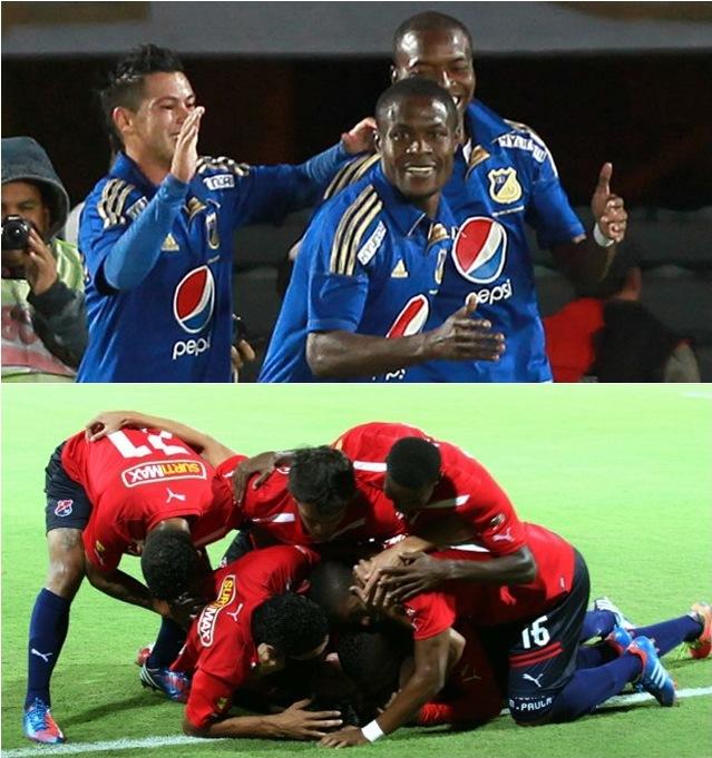 Millonarios vs Medellín, final Liga Postobon II-2012