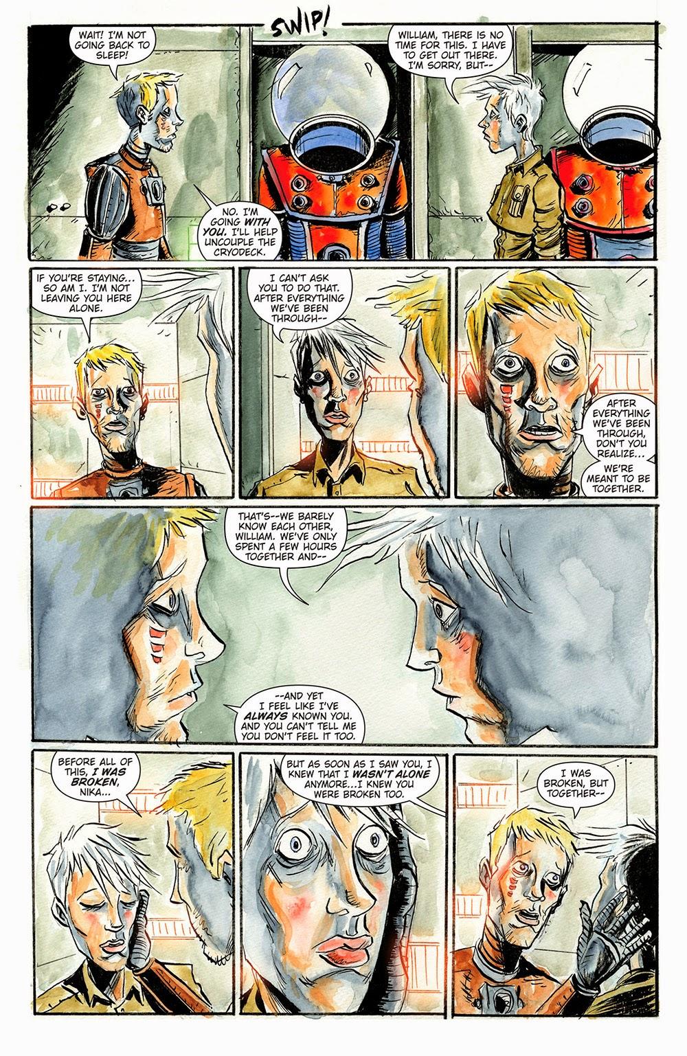 Trillium comic