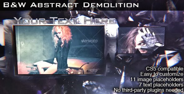 VideoHive B&W Abstract Demolition
