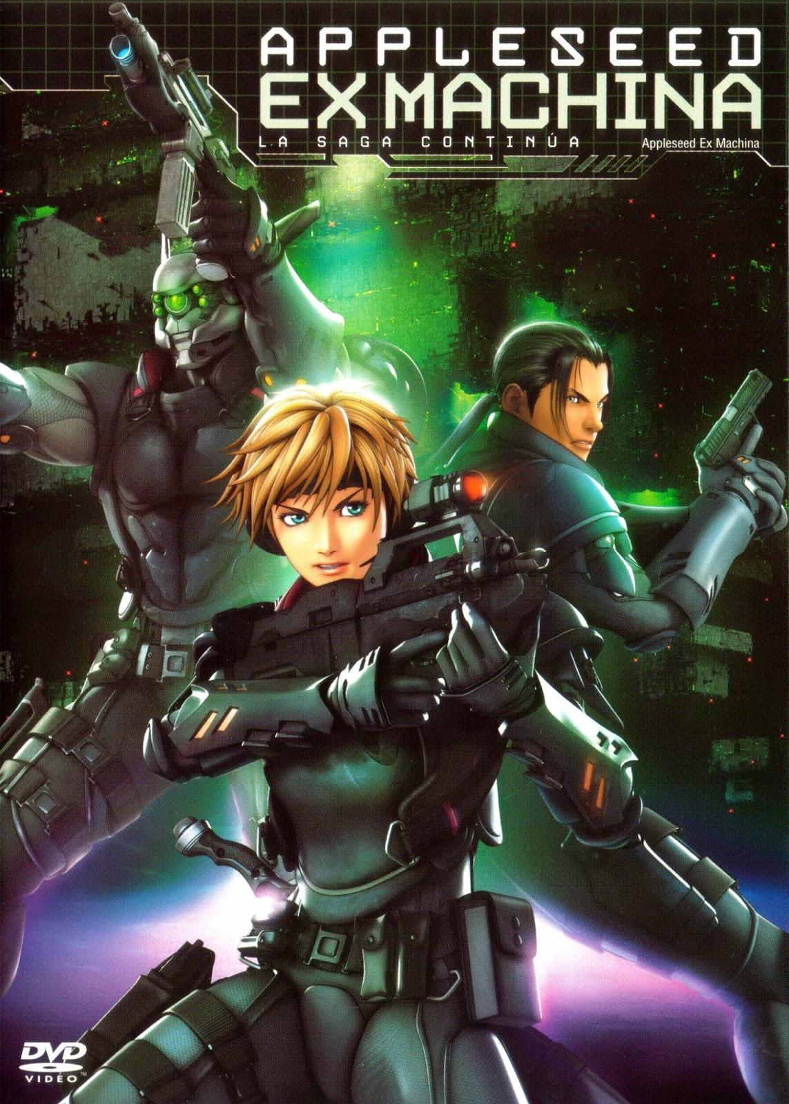Appleseed Saga: Ex Machina (2007) Ciencia Ficción