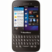 Blackberry Q5 - Hitam