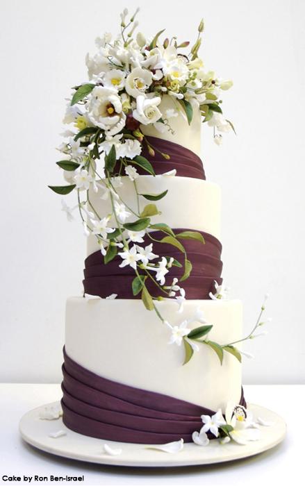 how to put fresh flowers on a wedding cake pesticide