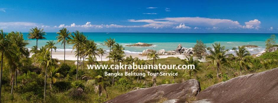 tempat wisata Pantai Rambak - Bangka
