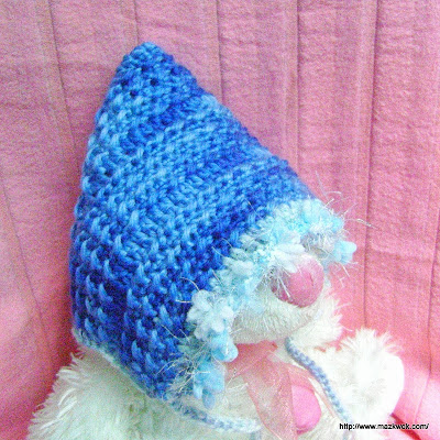 Free Crochet Pattern Colorful Baby Vest : Baby pixie hat