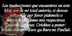 Copyright de Traducciones.
