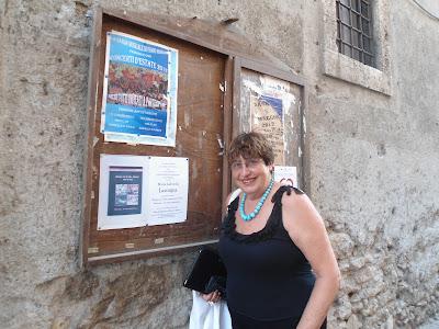 Gabriella Lavorgna ad Assisi