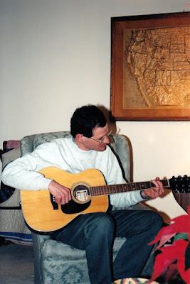 Climbing My Family Tree: Carl playing circa 2002